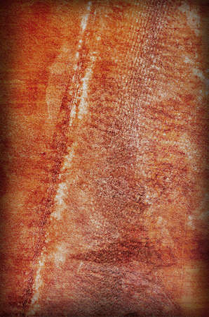 Red Grungy Background with scratches and damages