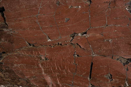 Rock with brown texture