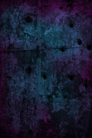 Grungy Dark Background Blue and Purple Stock Photo