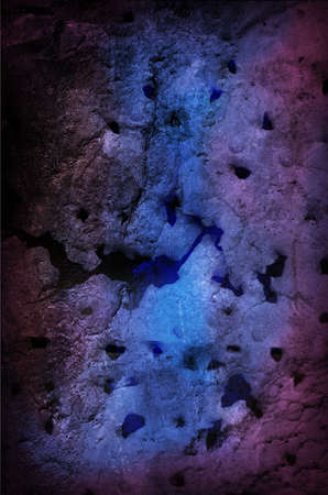 Grungy Dark Background Blue and Purple with Holes from Bullets