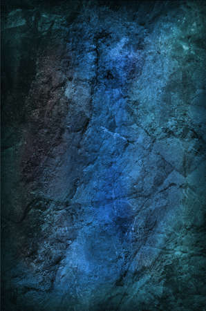 Blue Grungy Stone Background Stock Photo
