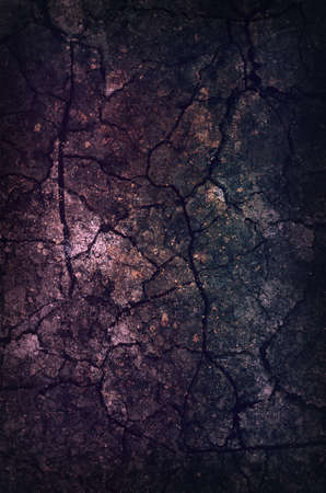 Dark Grunge Background with scratches and damages