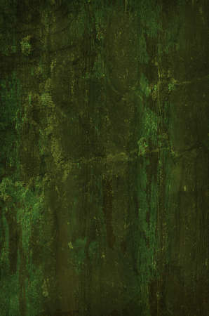 Dark Green Grunge Background.