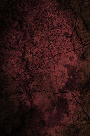 Dark red Grunge Background with damages and scratches