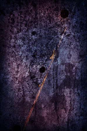 Dark Violet Grunge Background with metallic elements Stock Photo