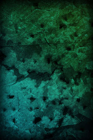 Metallic Grunge Background in blue and green colors. Stock Photo
