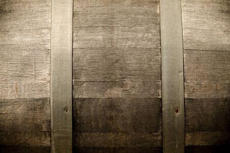 Detail of wine barrel.