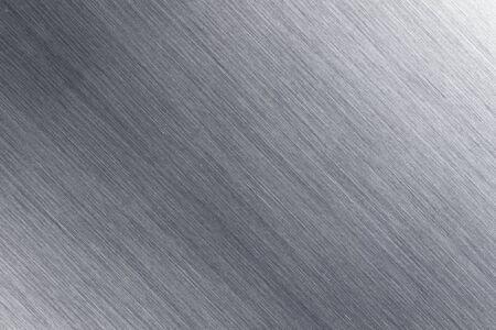 ブラシをかけられた金属板の詳細 写真素材