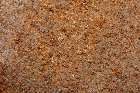 oxidized: Rusted metal surface. Stock Photo