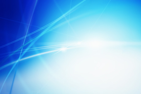 Blue colored background with various lines and shades of blue interacting.
