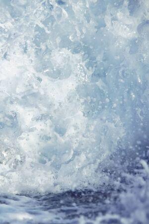 Detail of crashing wave.