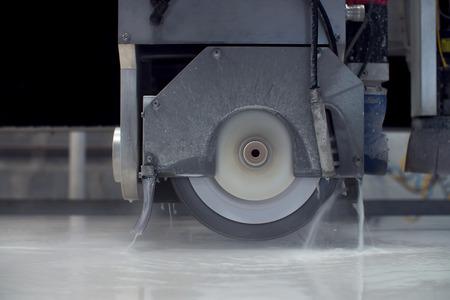 Industriële kwaliteit, Cirkelzaag graniet snijden