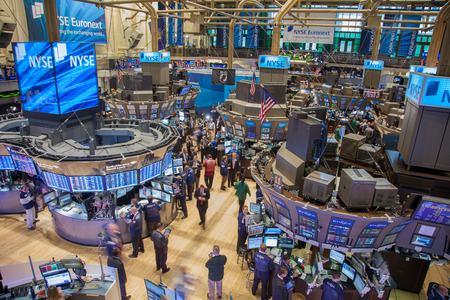 New York, New York, États-Unis d'Amérique - 22 septembre 2011 - Place de négociation occupée à la Bourse de New York - USAGE ÉDITORIAL UNIQUEMENT Éditoriale