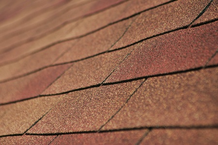 Detail of Shingle Roofing.