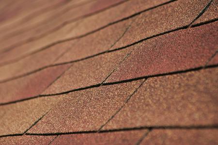 Particolare del tetto in scandole. Archivio Fotografico - 92659492