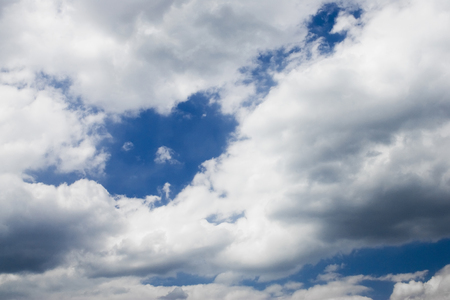 Cloudy with chance of rain, chance of sun.  Banco de Imagens