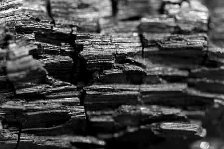 Macro shot of charcoal. Stock Photo - 94213170