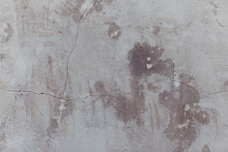 Cracked Concrete wall background Stock Photo