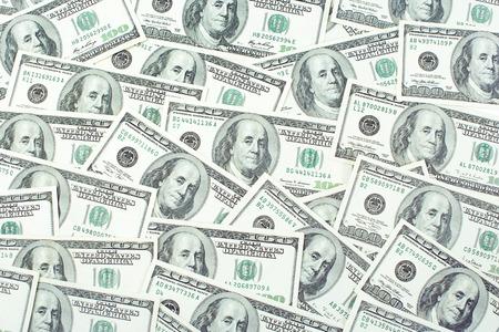 100 달러 지폐로 구성된 배경 이미지 스톡 콘텐츠 - 94445919