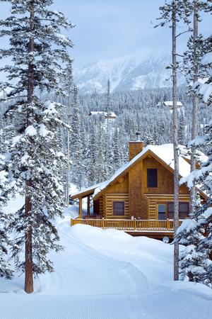 Ski in, Ski Out vormgegeven woningen in de Rocky Mountains.