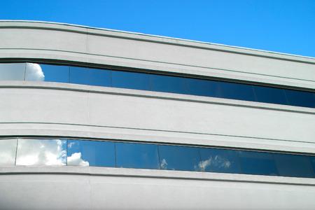 Office building detail shot.