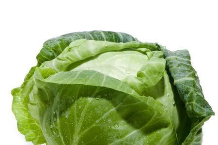 freshly washed cabbage