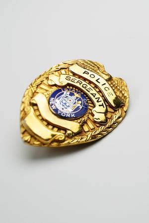 New York Police Badge.
