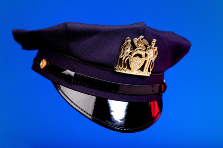 New York City styled police hat.