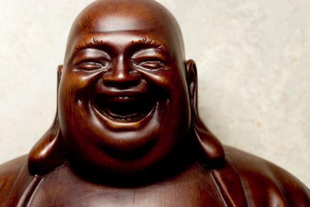 Detail of Buddha statue.