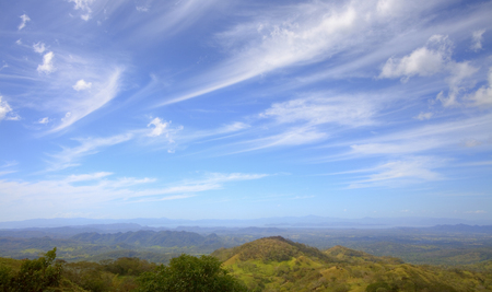 View of Nicoya Peninsula in the distance. Фото со стока