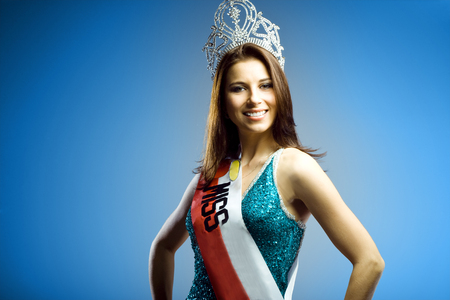 Female Beauty Queen Standard-Bild