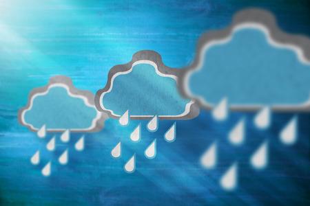 Rain cloud concept Stock Photo