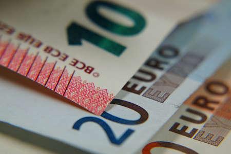 path to wealth: Euro Cash Stock Photo
