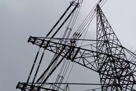 megawatt: electricity pylon
