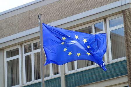 the european economic community: European Union Flag