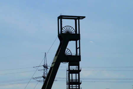 west of germany: Old mine in West Germany