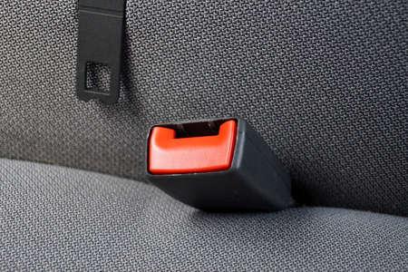 cinturon de seguridad: Cinturón de seguridad en un coche