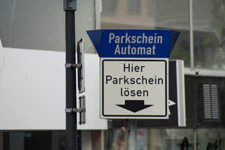 parking ticket: parking ticket machine