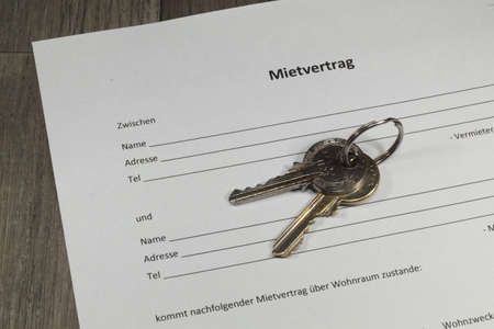leases: Lease contract for at apartment