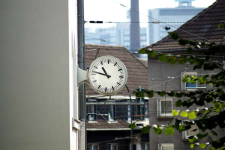 timekeeping: A house with a large clock