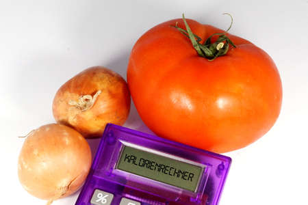 Vegetables and Calorie Calculator