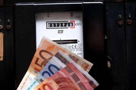 electricity meter: Electricity meter money