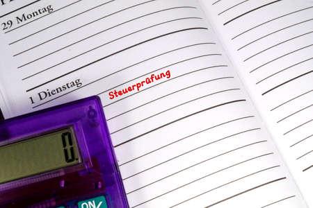scheduler: Date Tax Audit
