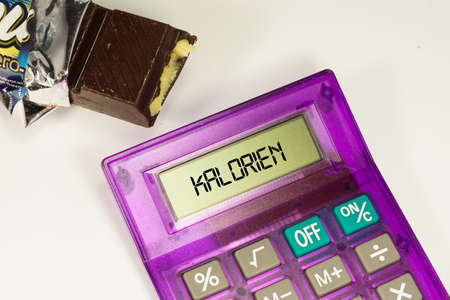calorie chocolate