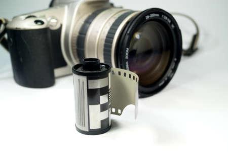 Old photographic equipment