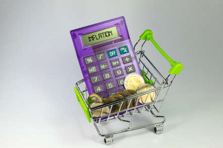 household money: Inflation and money Stock Photo