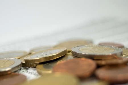 anticipate: Statistics and money Stock Photo