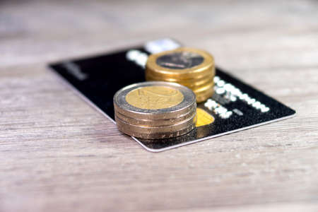 bankcard: Credit card and money