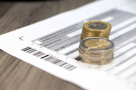 tax evasion: German tax return