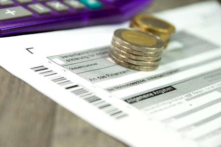 budgetary: German tax return